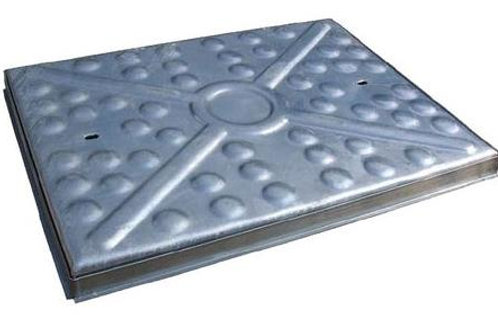 Manhole Cover 600x600 Solid Top 10Tonne