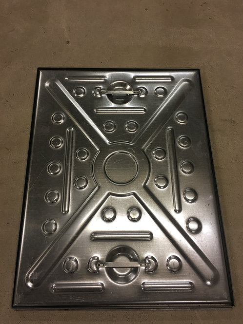 Manhole Cover 600x450 5Tonne Solid Top