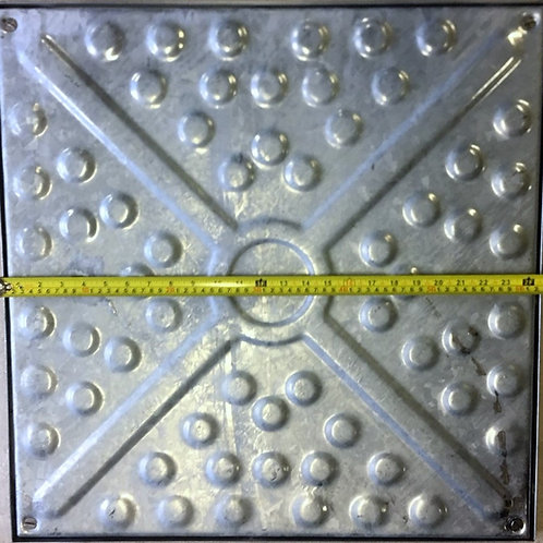 Manhole Cover 600x600 Solid Top Locked & Sealed 10Tonne