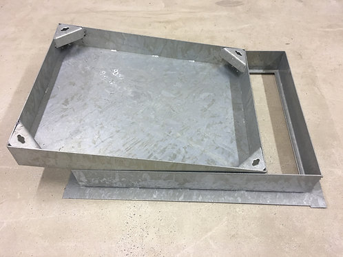 Recessed 600x450x80mm Block Paviour