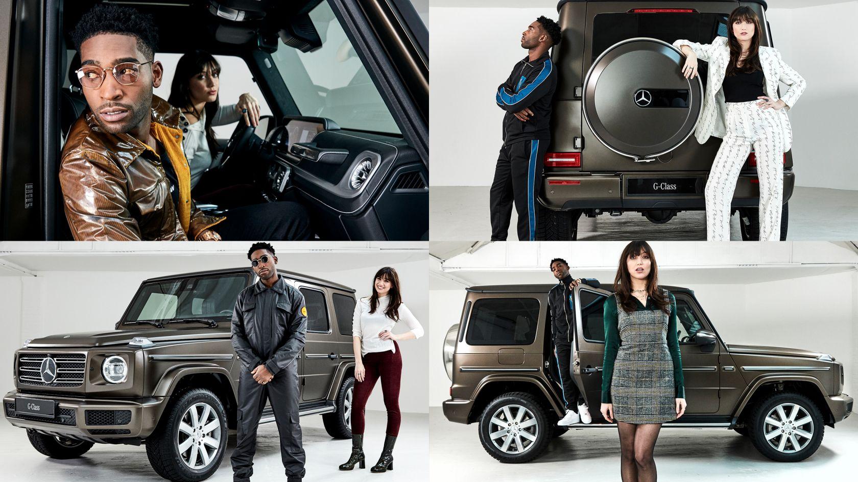 Mercedes Benz G Wagon Campaign