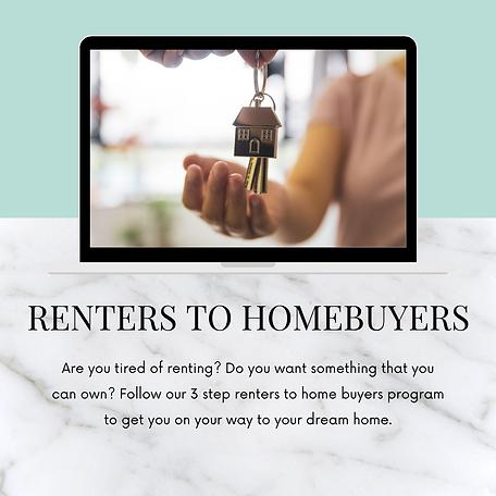Renters to Homebuyers