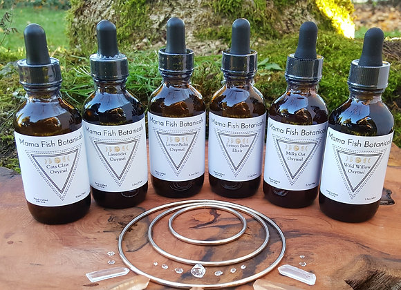 Single Herb Extraction Wellness Elixirs & Oxymels