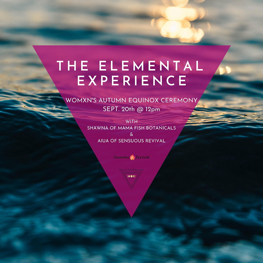 The Autumn Elemental Experience - Seasonal Womxn's Healing Day Retreat