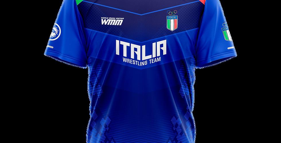 ITALIA TEAM Blue t-shirt