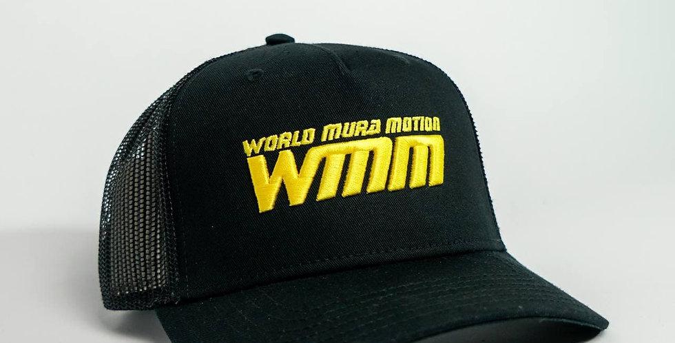 Black yellow cap / Черно-желтая кепка WMM