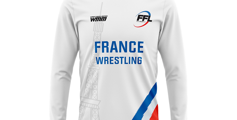 Long sleeve shirt Team France
