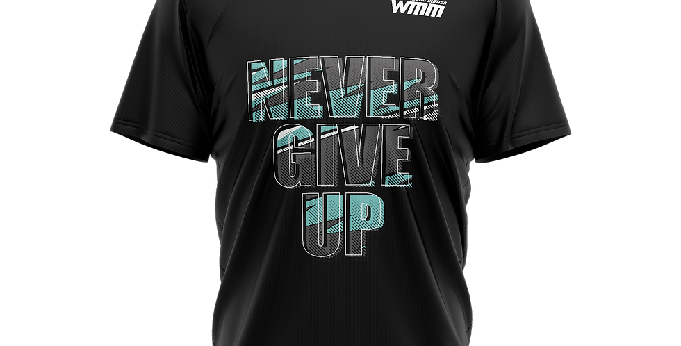 Футболка Never give up 3