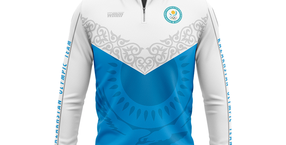 Kazakhstan team track jacket gray