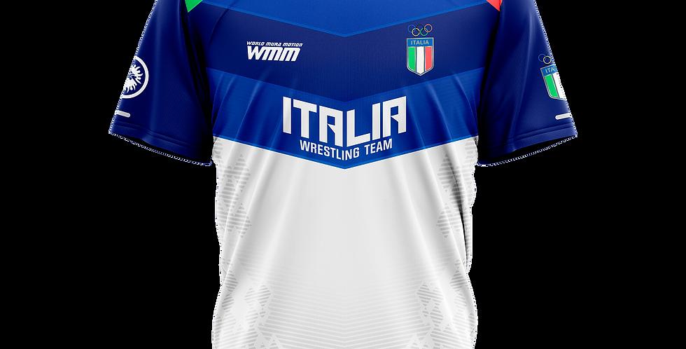 ITALIA TEAM white t-shirt