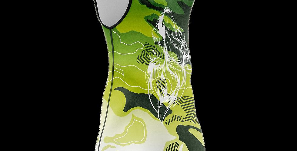 Green camo singlet