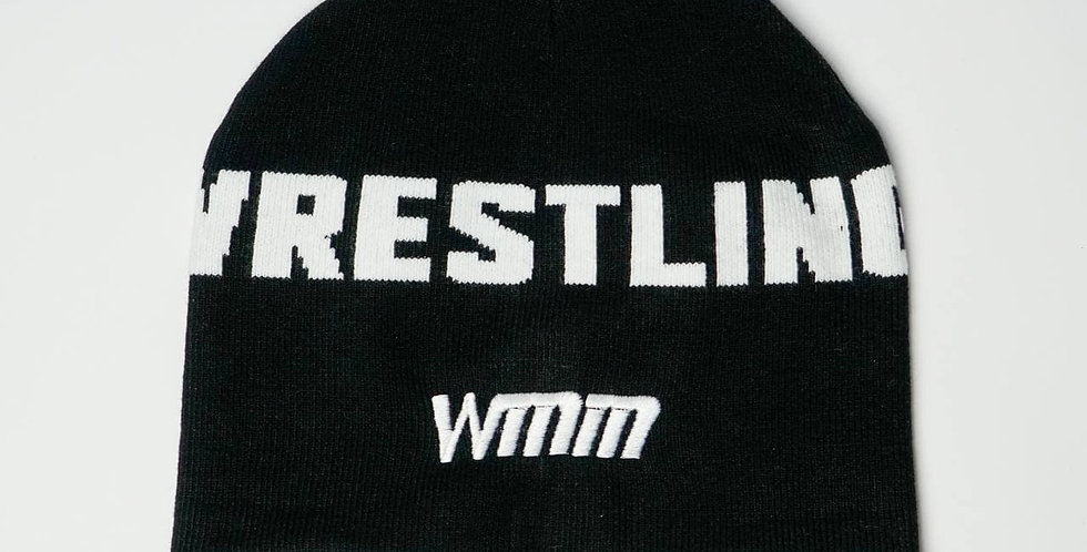 Шапка Wrestling WMM black