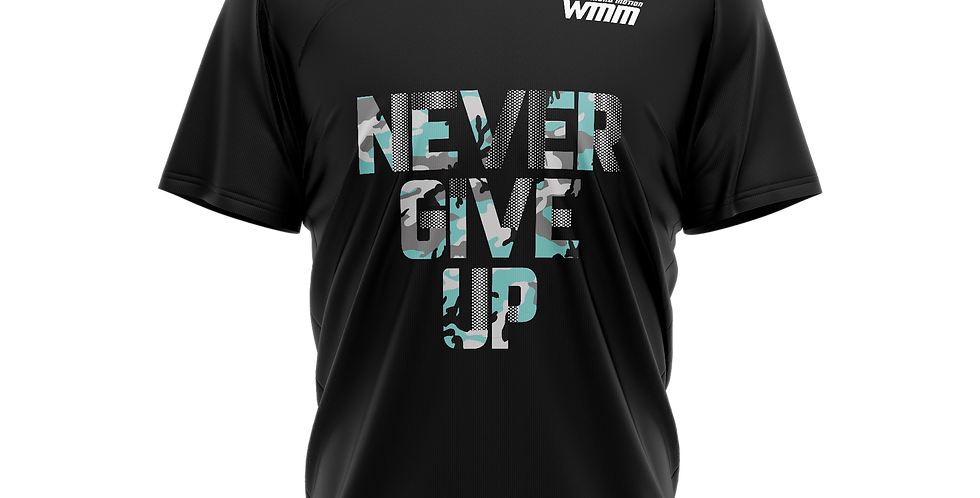 Футболка Never give up 2