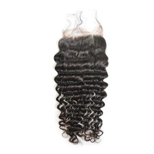 4x4 Deep wave lace closure