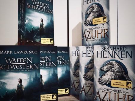 8 Fantasy-Bücher zu gewinnen!