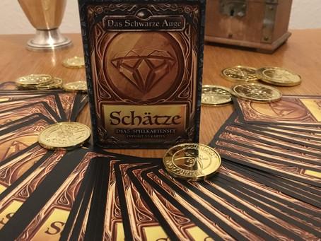 Gewinnspiel: Schätze-Spielkarten