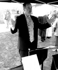 Graham conducting