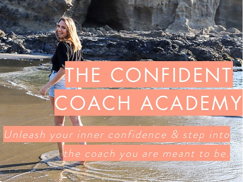 THE CONFIDENT COACH ACADEMY