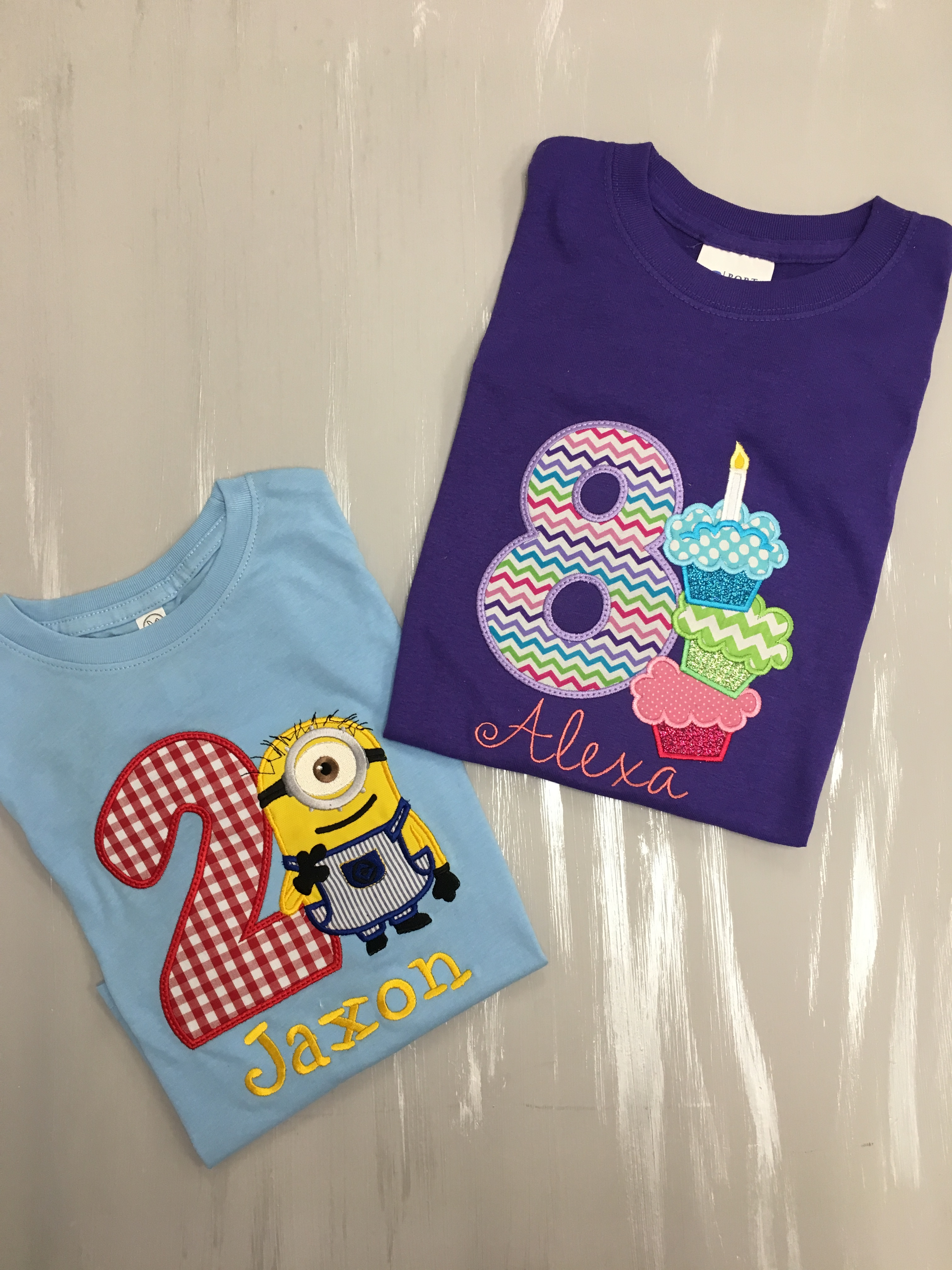 Birthday Shirts!