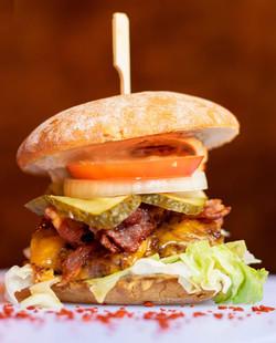 Klassik Bacon Cheese Burger
