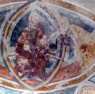 Pantocratore e San Pietro-absidiola destra