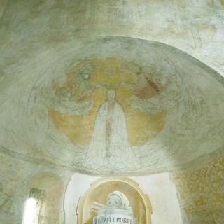 Incoronazione della Vergine - absidiola sinistra