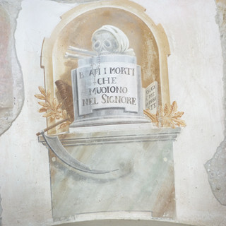 scritte funebri - absidiola sinistra