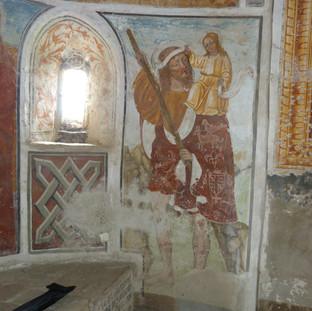 San Cristoforo - absidiola destra