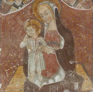 Madonna con Bambino - absidiola destra