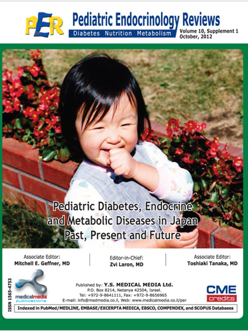 Epidemiology of Childhood Diabetes Mellitus in Jap