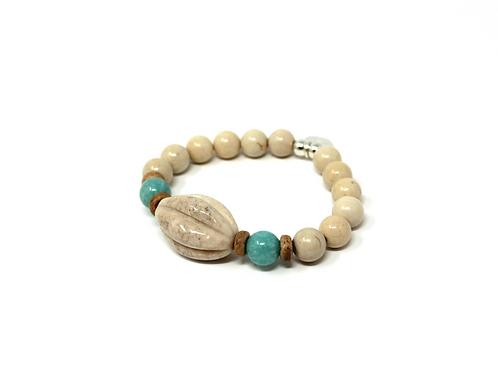 Bracelet Riverstone - Amazonite