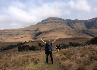 Kilometers vreten in Zuid-Afrika