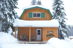Wintery Moose Chalet at Hillside Lodge