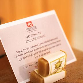 Hillside Lodge - Welcome Sign