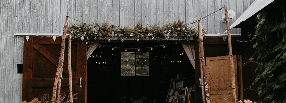 Hillside Barn Wedding