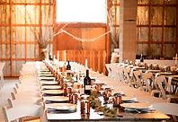 Venue Setup at Hillside Lodge