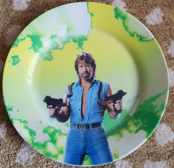 Assiette Chuck Norris