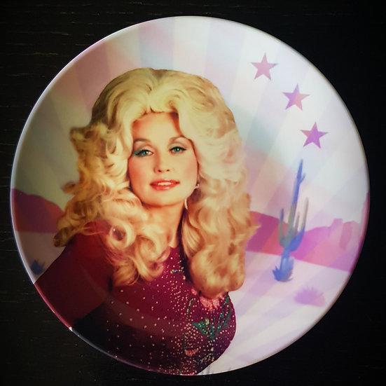 Assiette Dolly Parton, 20cm