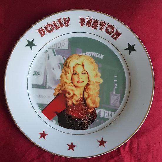 Assiette Dolly Parton II, 27cm