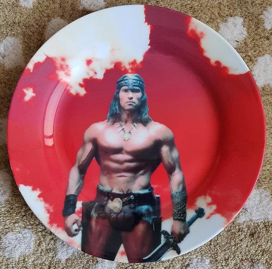 Assiette Arnold Schwarzenegger