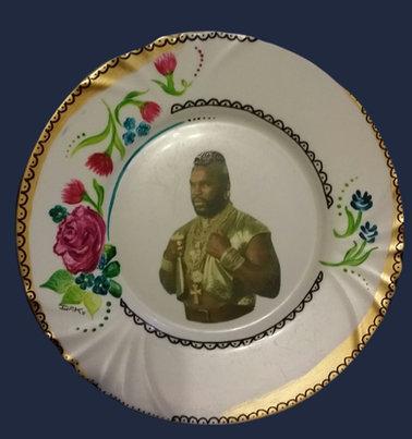 Assiette Barakuda I
