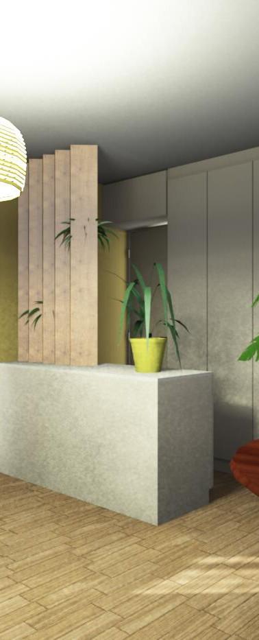 Chez Mme W. Clichy- Projet 3D