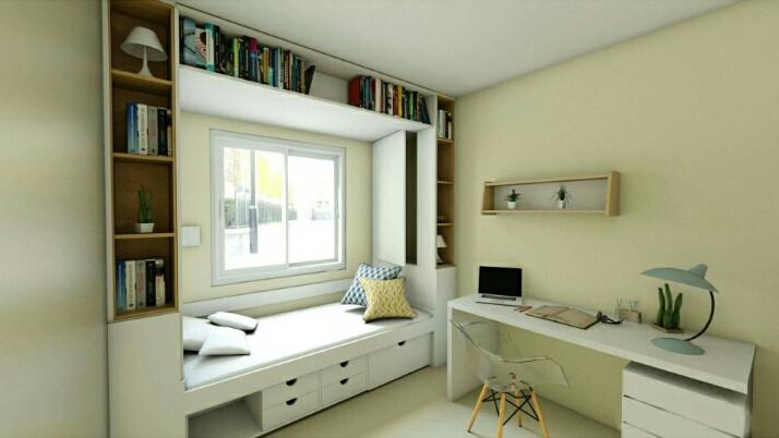 Chez M et Mme L. Courbevoie - Chambre Al