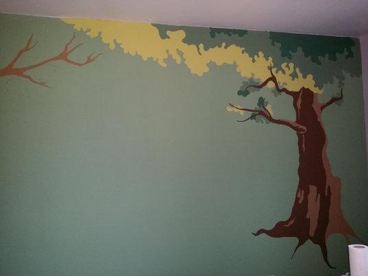 Fresque Murale La Forêt