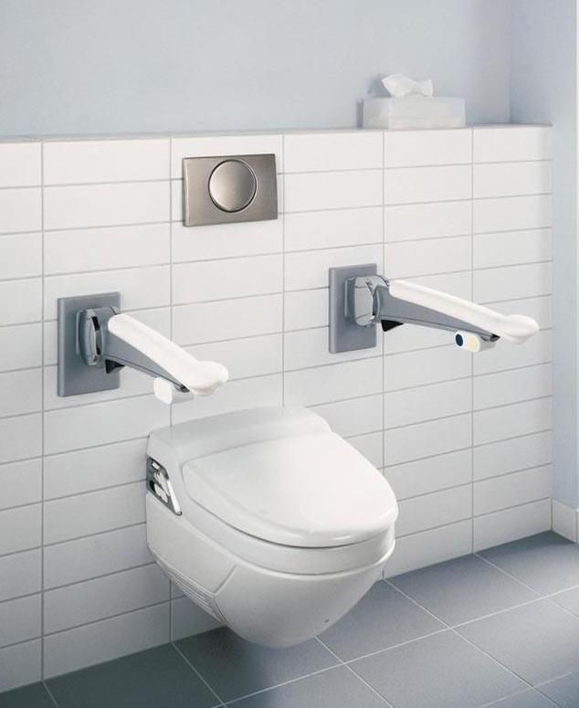 Barres de relevage WC Espace Aubade