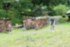 きのこ村キャンプ場杣人の会活動
