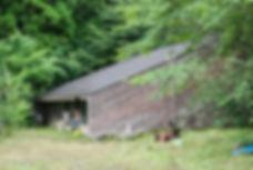 きのこ村キャンプ場杣人の会山小屋山帰来