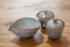 お茶の里記念館茶器