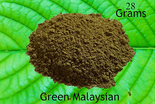 Green Malaysian 28 Grams