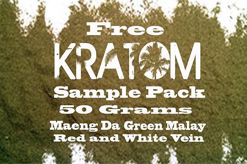 Free Kratom Sample Pack
